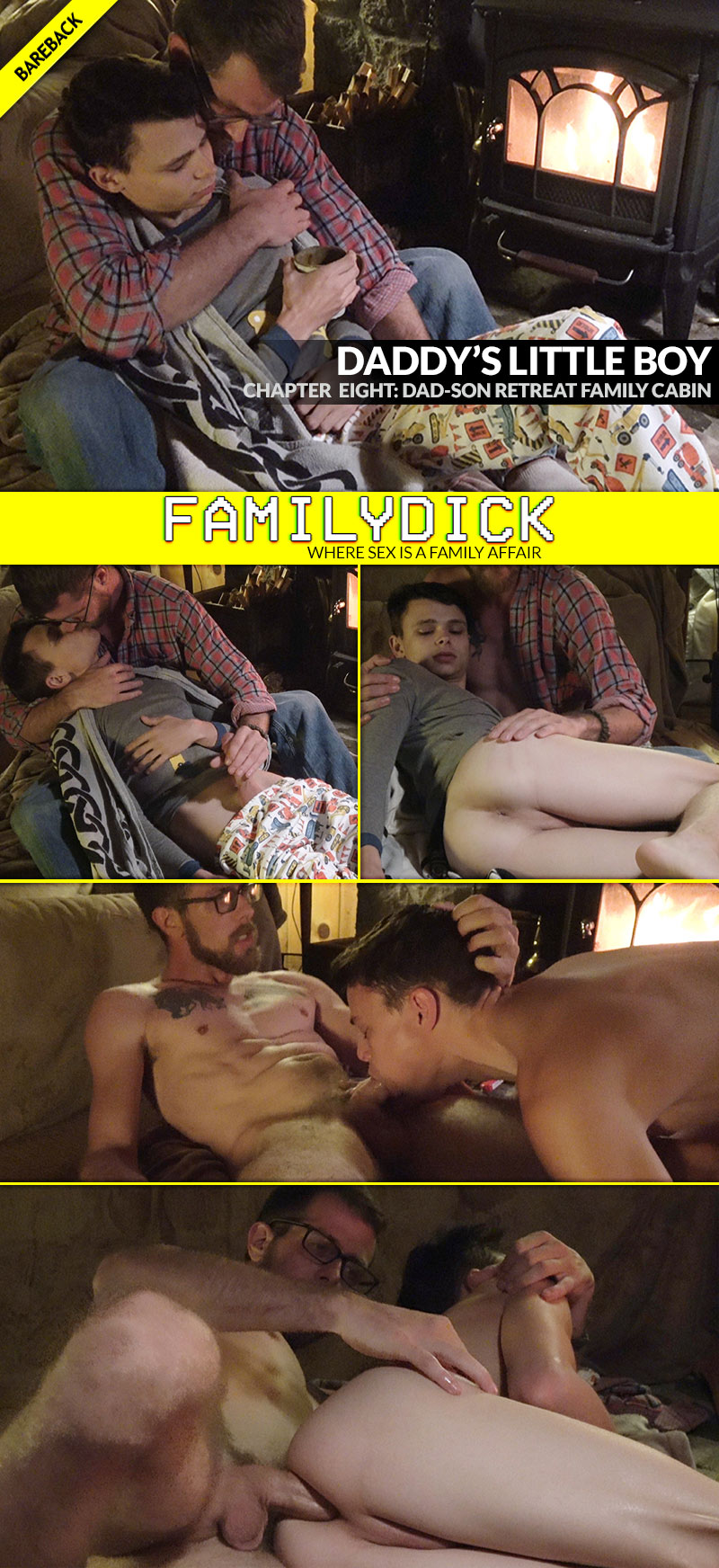 Daddy's Little Boy, Chapter 8: DAD-SON RETREAT FAMILY CABIN (with Jacob Armstrong (Dad) and Austin Armstrong (Son)) at FamilyDick