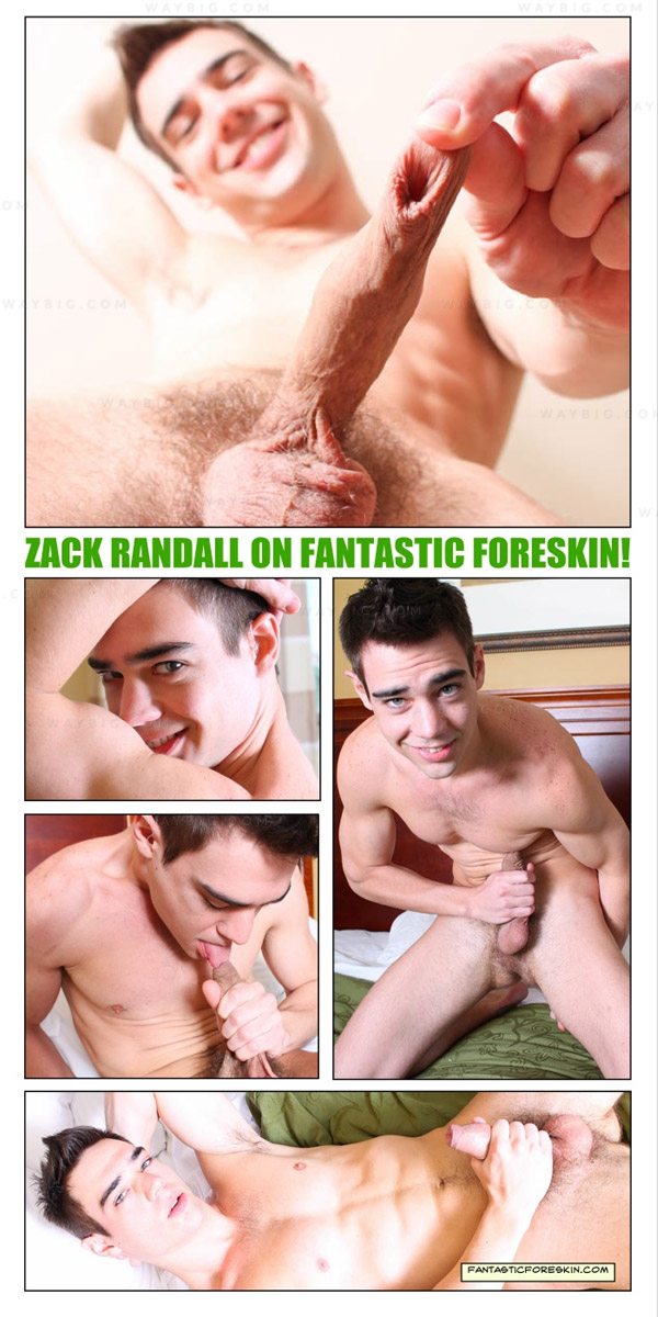 Zack Randall (Self-Sucking Superstar) at FantasticForeskin.com