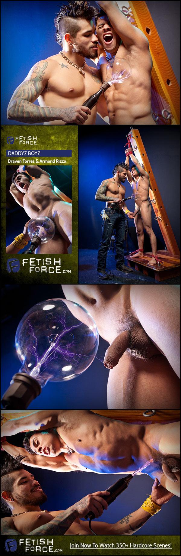 Daddyz Boyz (Draven Torres & Armond Rizzo) (Scene 3) at Fetish Force!