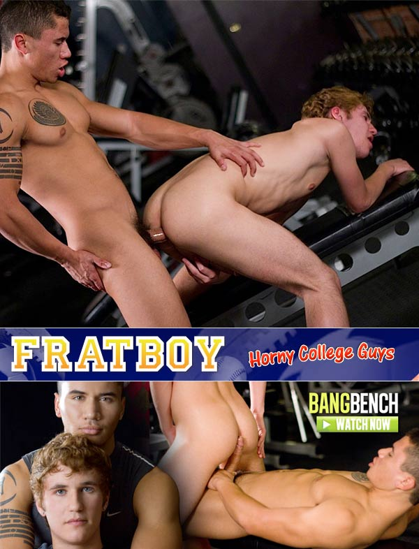 Bang Bench (Dante Escobar & Kain Lanning) at FratBoy.com