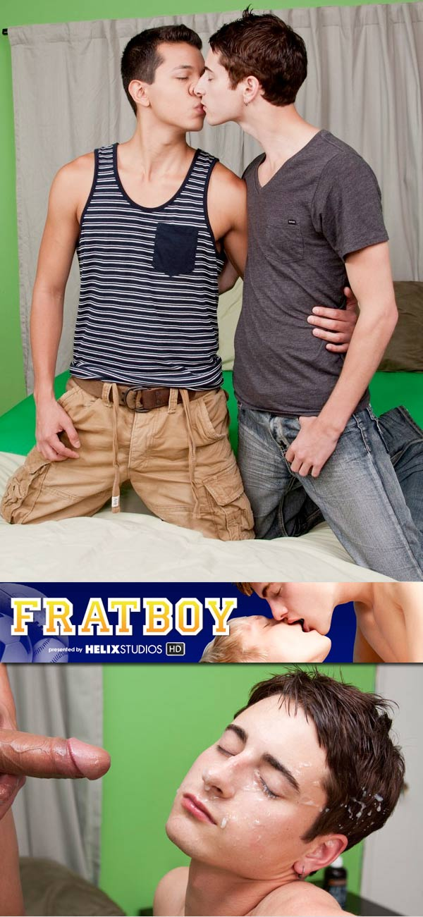 Patrick Kennedy & Max Carter at FratBoy.com