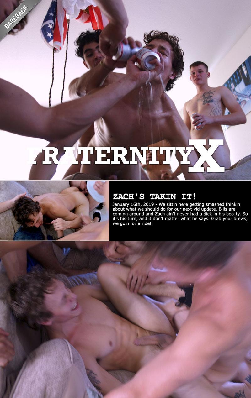 ZACH COUNTRY TAKIN IT! (with Max Marciano, Zach Country, Zane, Cody K. Nutz and Alex Rim) at FraternityX