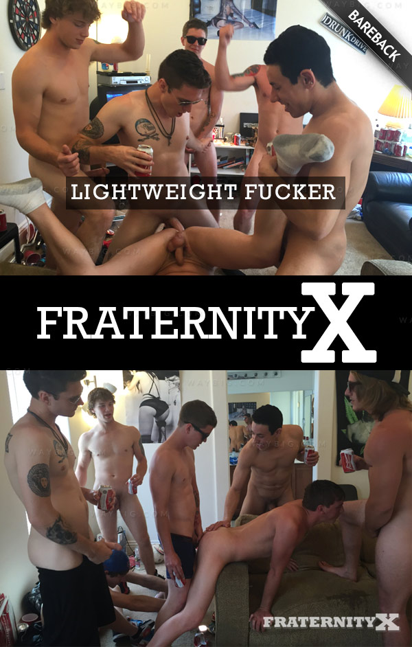 Lightweight Fucker (Bareback) it at FraternityX