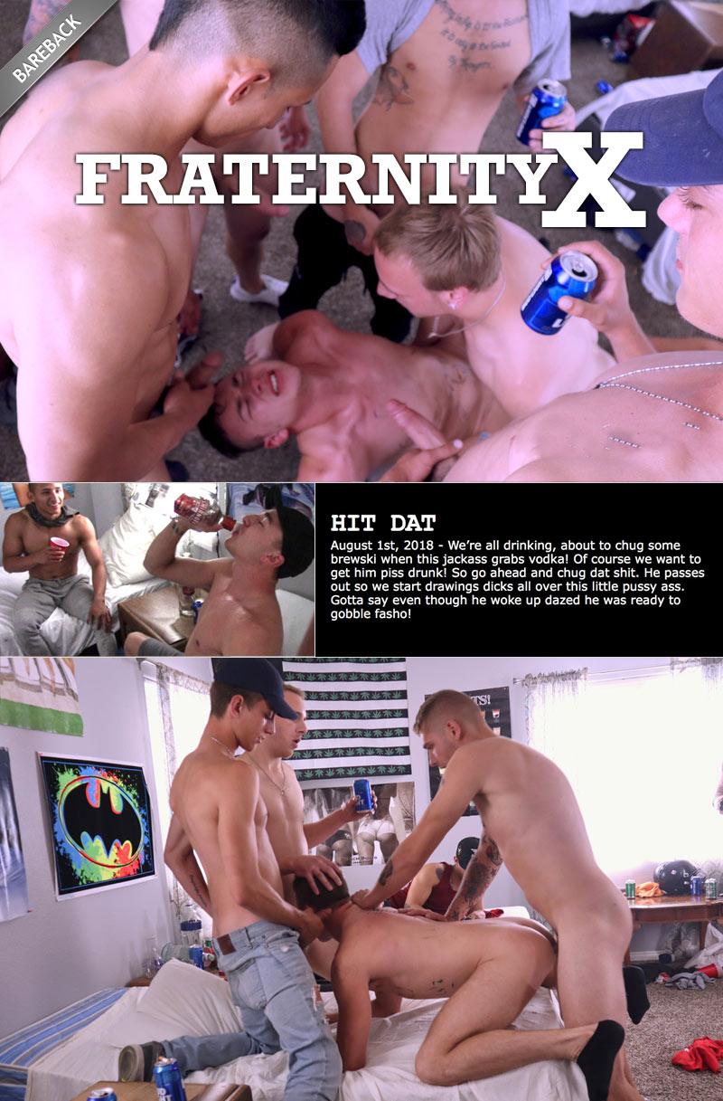 HIT DAT! (Bareback) at FraternityX