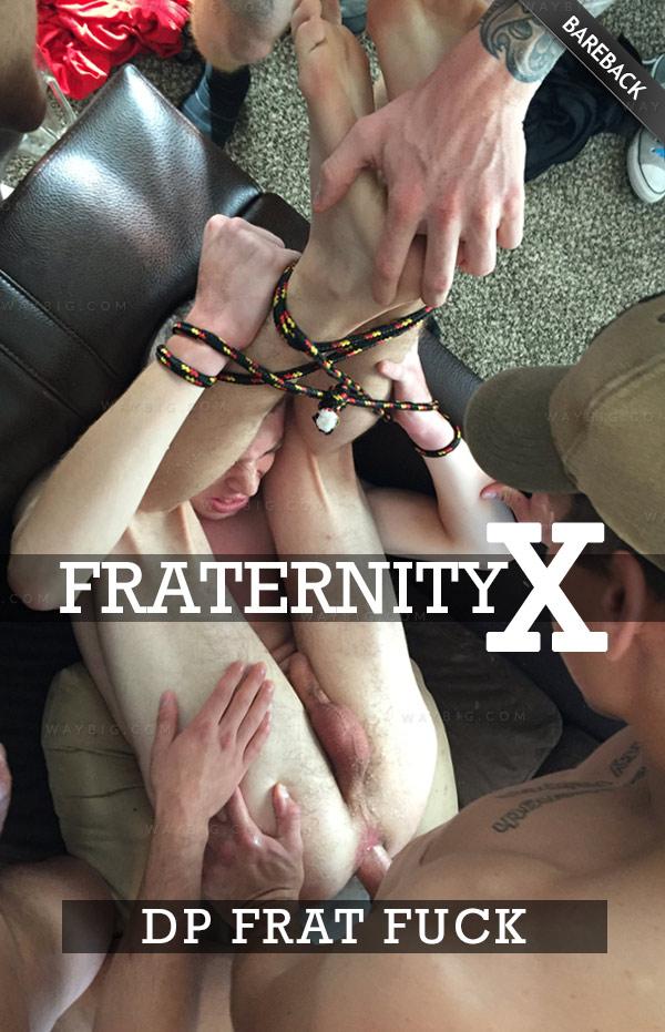 DP Frat Fuck (Bareback) at FraternityX
