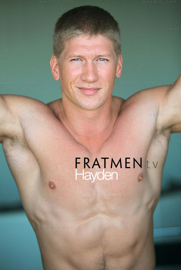 Hayden (Up-Close) at Fratmen.tv