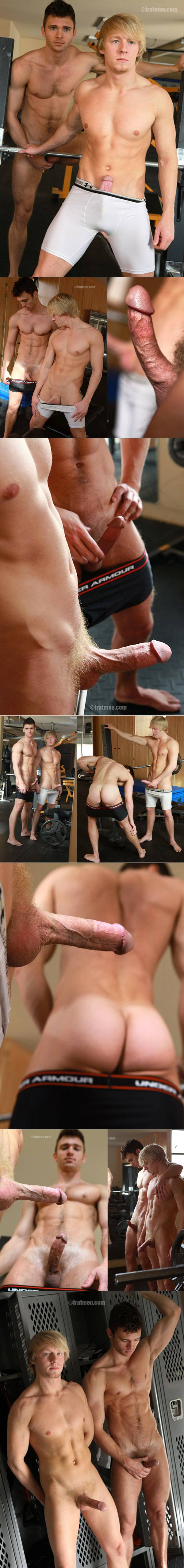 Calvin & Jayden at Fratmen.tv