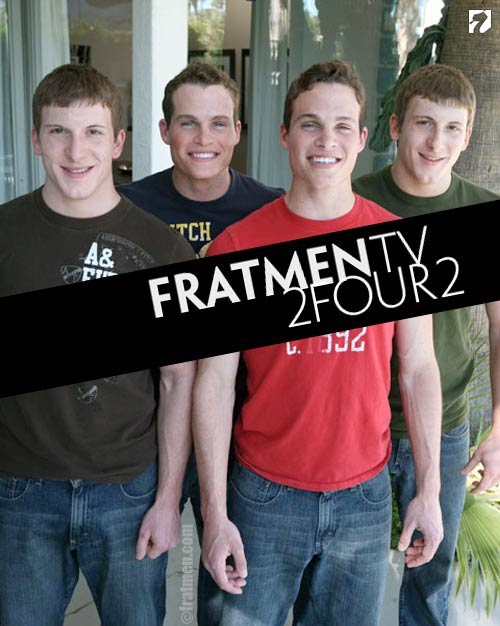 Two Four Two (Twin Brother Jack-off) at Fratmen.tv