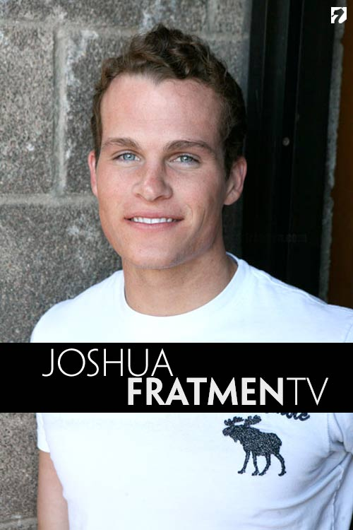 Joshua (Naked Twin Brother) at Fratmen.tv