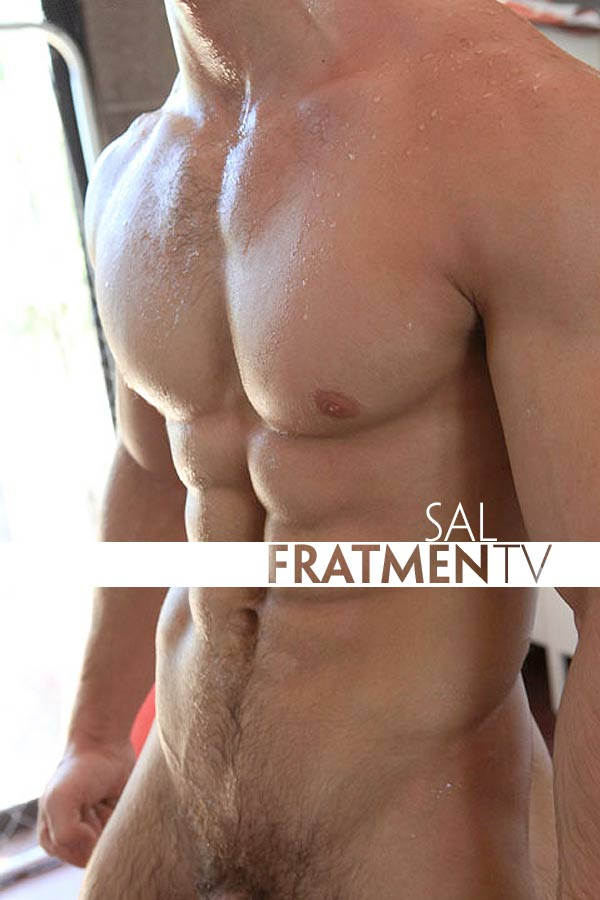 Sal (Naked College Bodybuilder) at Fratmen.tv