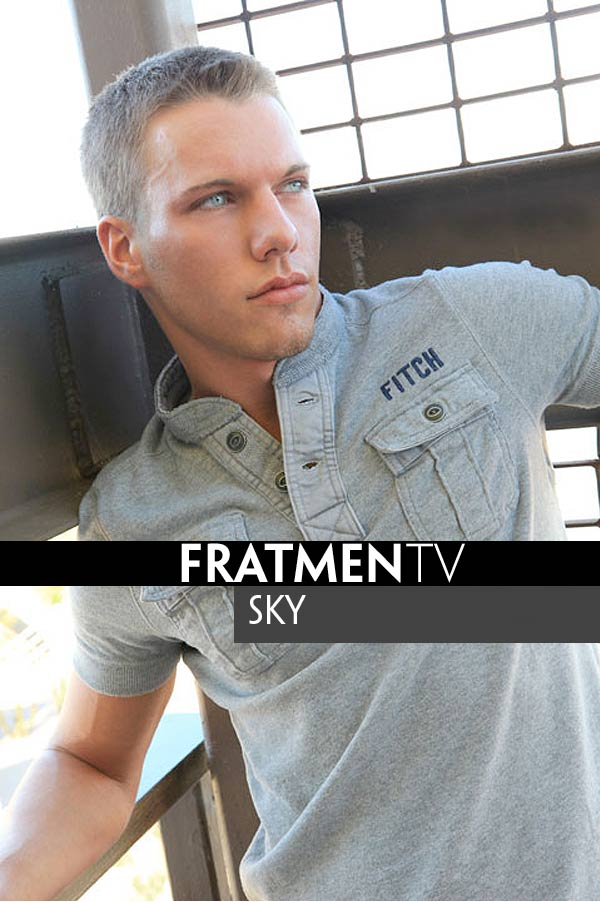 Sky (Hot College Golfer) at Fratmen.tv