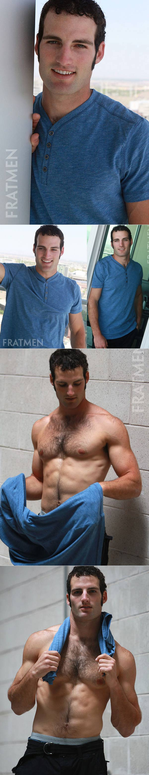 Keagan (Up-Close) at Fratmen.tv