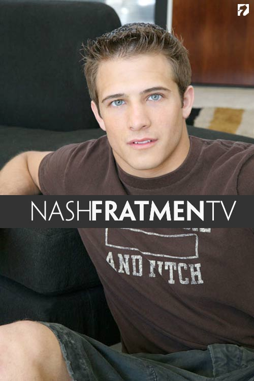 Nash (Naked College Jock) at Fratmen.tv