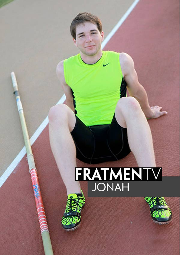 Jonah (Naked Pole Vaulting Champion) at Fratmen.tv