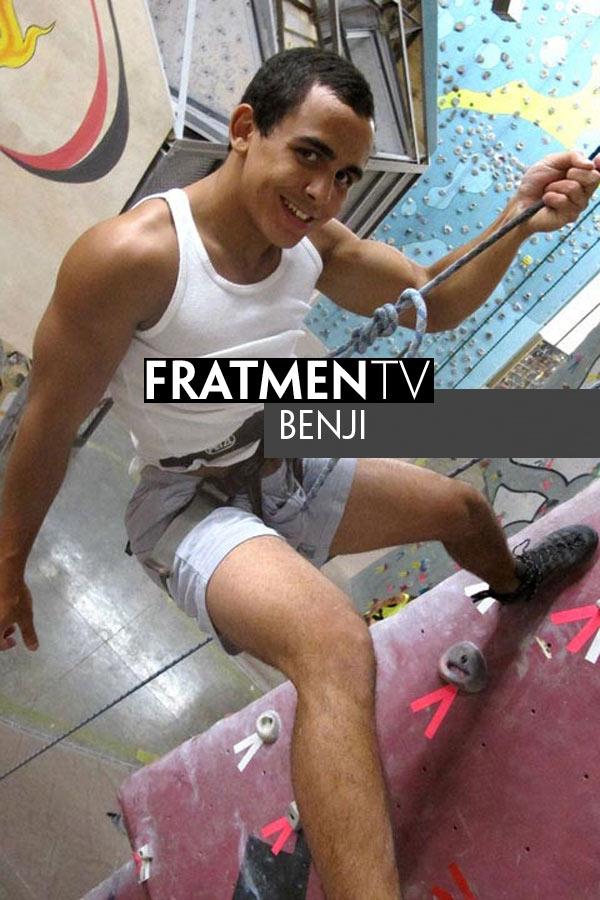 Benji (Naked Rock Climber) at Fratmen.tv
