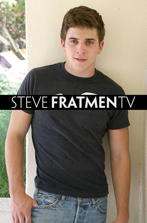 Steve (Naked College Jock) at Fratmen.tv