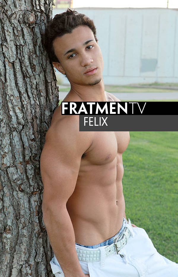 Felix (Naked Asian Muscle Jock) at Fratmen.tv