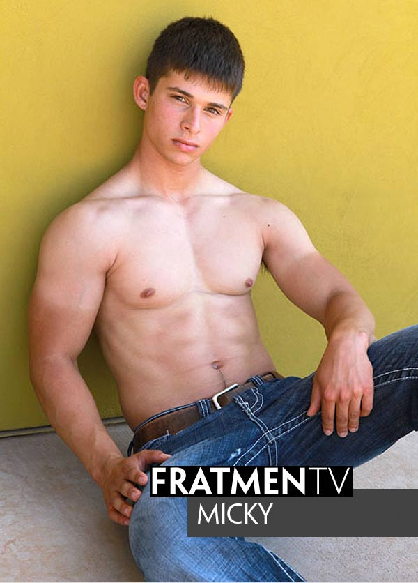 Micky (Sexy Frat Boy) at Fratmen.tv