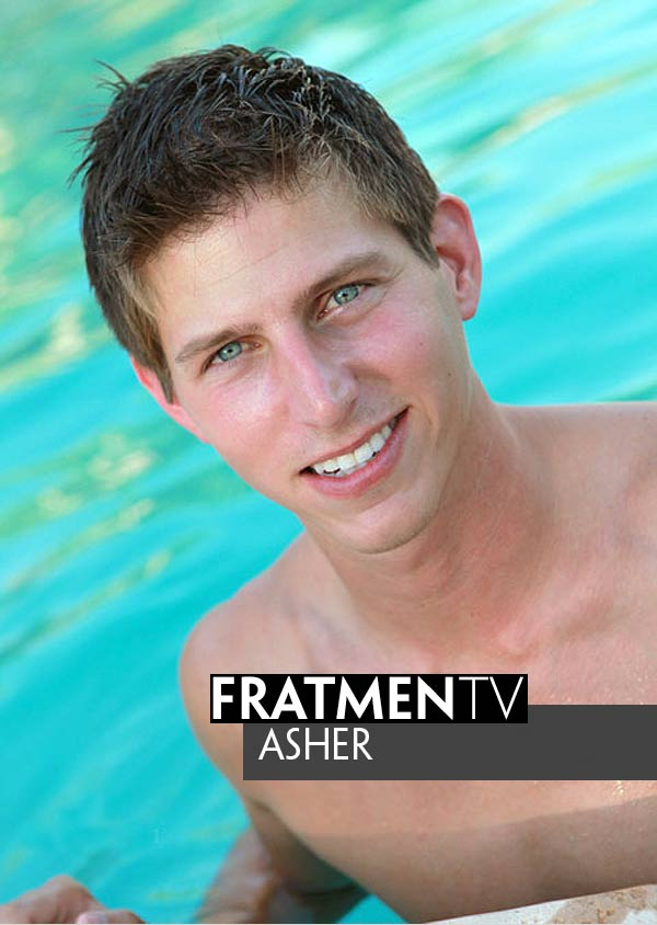 Asher (Straight Jock) at Fratmen.tv