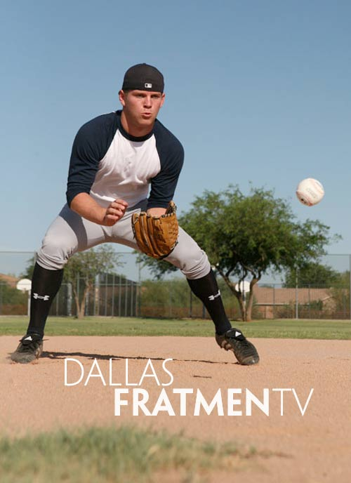 Dallas (Naked College Baseball Jock) at Fratmen.tv