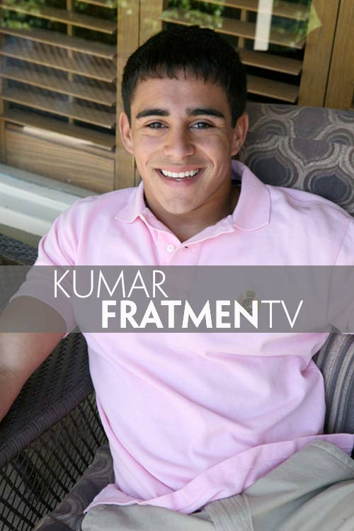 Kumar (Naked Indian College Jock) at Fratmen.tv