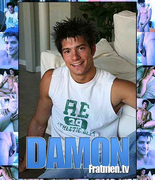 Damon at Fratmen.tv