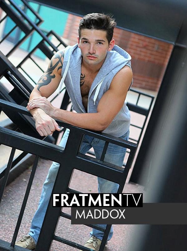 Maddox (Up-Close) at Fratmen.tv