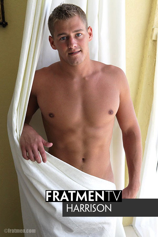 Harrison (Up-Close) at Fratmen.tv