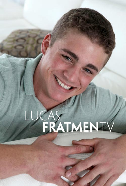 Lucas (Naked College Bodybuilder) at Fratmen.tv