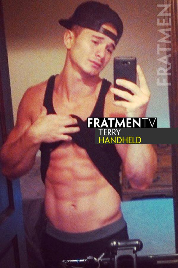 Terry (Handheld) at Fratmen.tv
