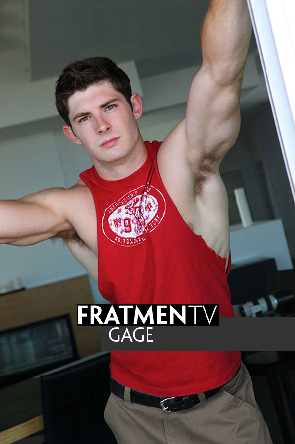 Gage (Up Close) at Fratmen.tv