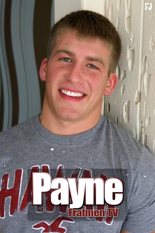 Payne at Fratmen.tv