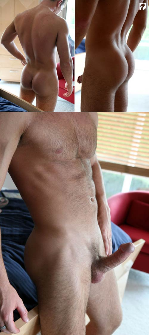 Collin (Naked Hairy College Stud) at Fratmen.tv