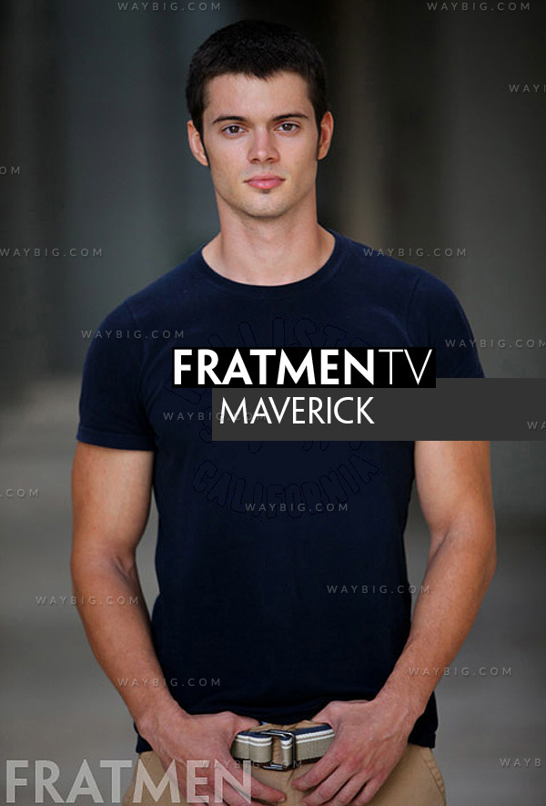 Maverick (Up-Close) at Fratmen.tv