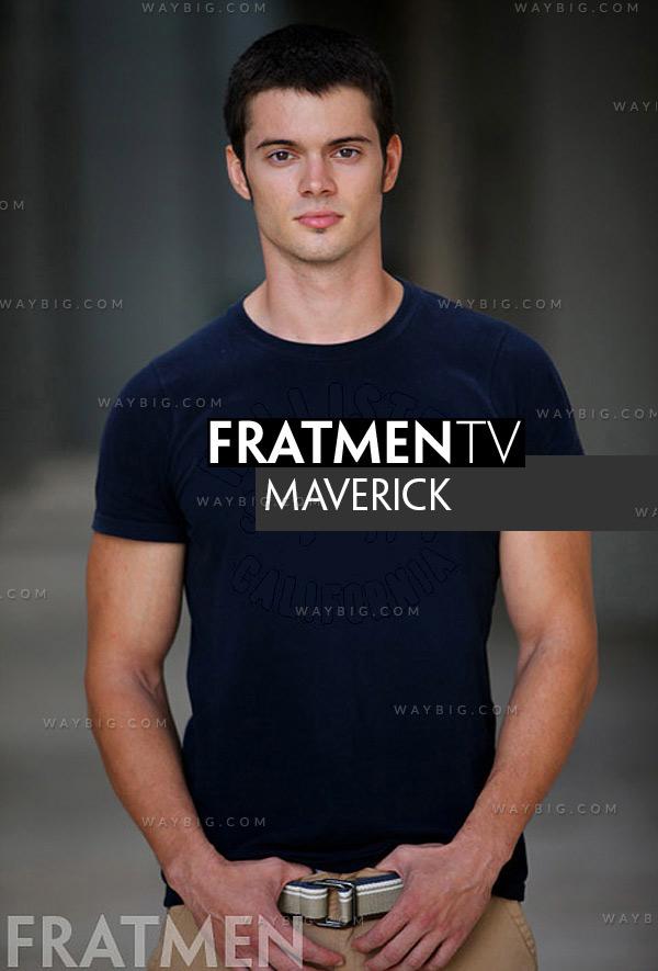 Maverick (Up-Close) at Fratmen.tv