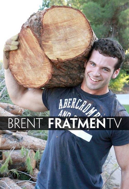 Brent (Naked College Lumberjack) at Fratmen.tv