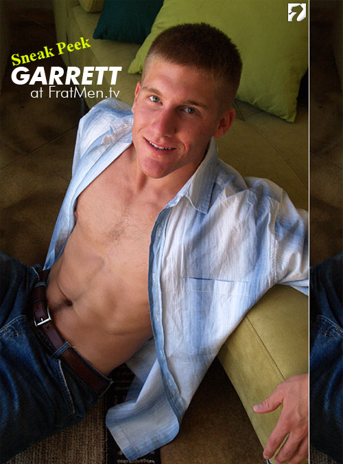 Sneak Peek: Garrett at Fratmen
