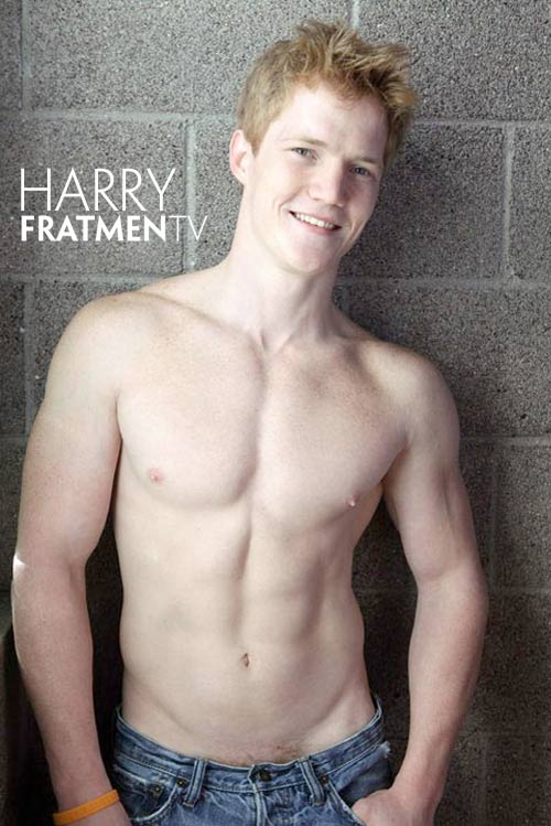 Harry (Naked College Redhead) at Fratmen.tv