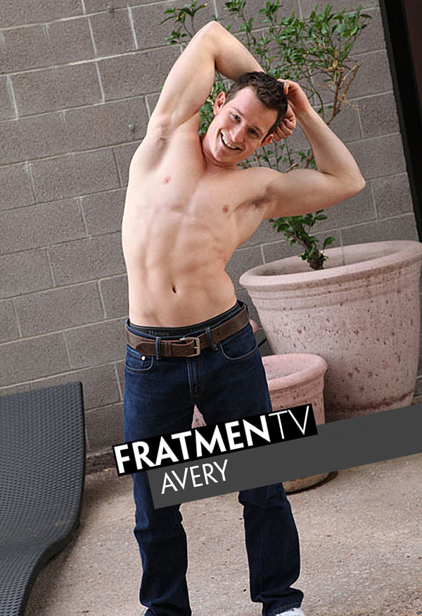 Avery (Innocent Young Frat Boy) at Fratmen.tv
