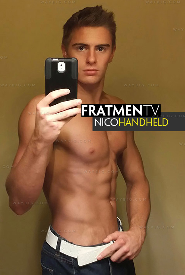 Nico (Handheld) at Fratmen.tv