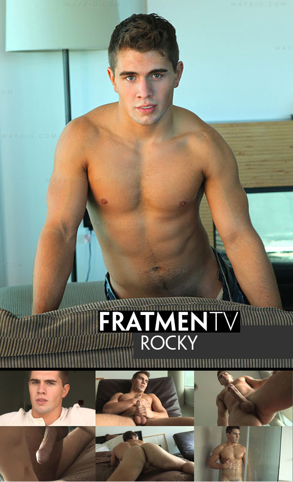Rocky (Up-Close) at Fratmen.tv