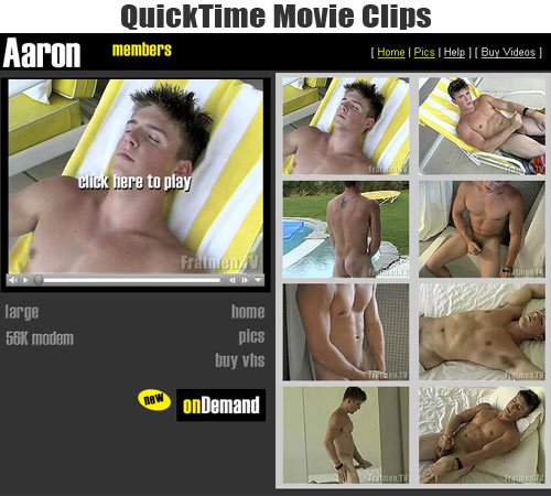 Aaron's Fratmen Movie Clips