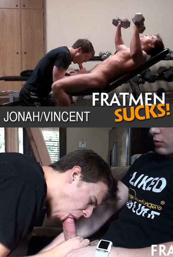 Watch Jonah & Vincent at Fratmen Sucks!