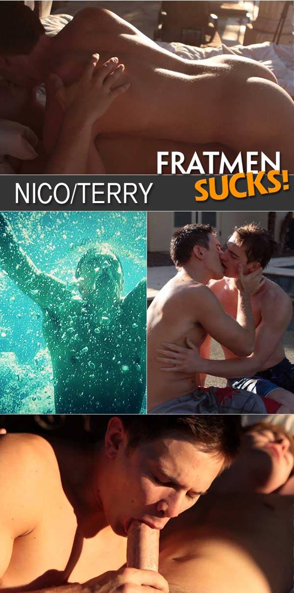 Watch Nico & Terry at Fratmen Sucks!