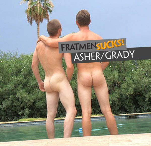 Asher & Grady at Fratmen Sucks!