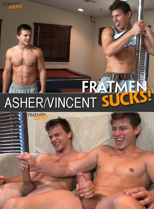 Asher & Vincent at Fratmen Sucks!