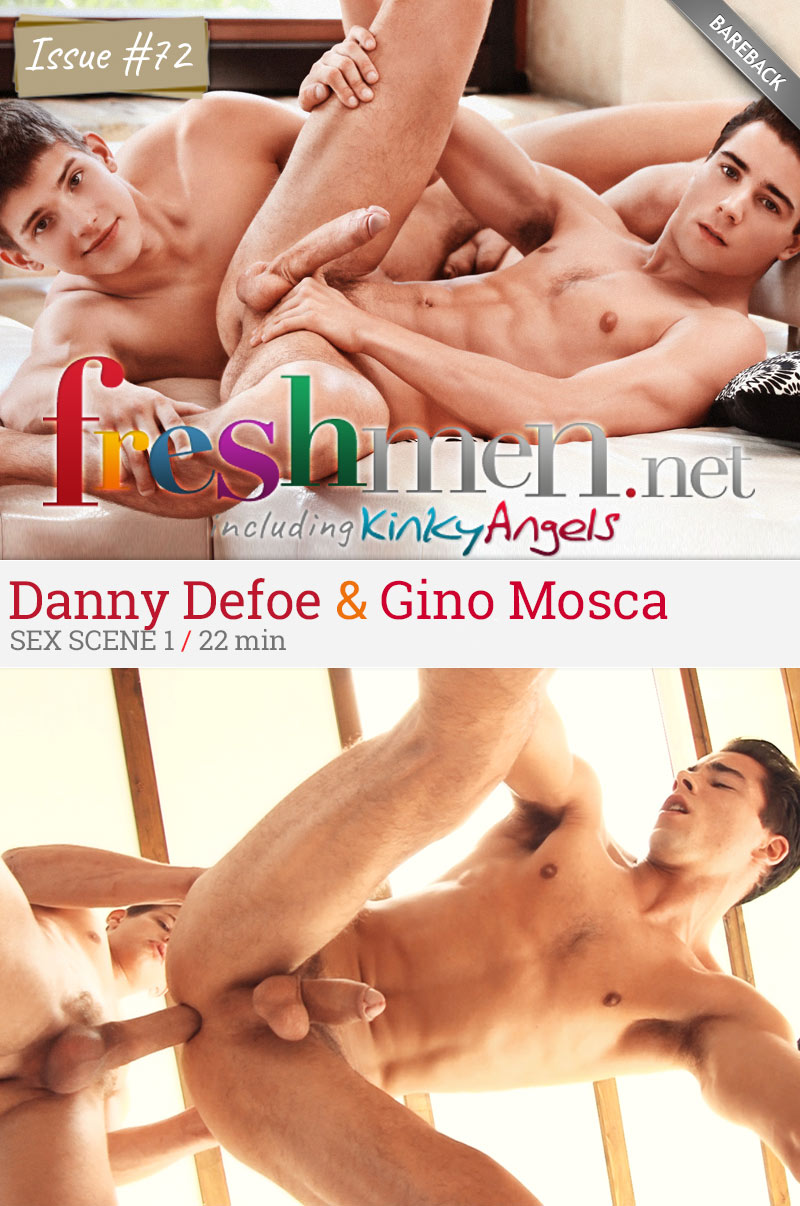 Issue #72 (Danny Defoe Fucks Gino Mosca) (Scene 1) at Freshmen.net