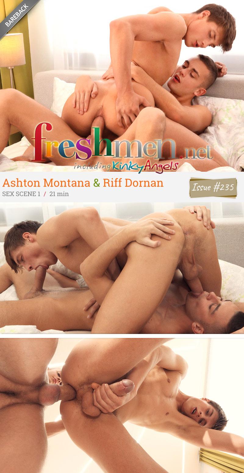 Issue 245, Scene 1 (Ashton Montana Bottoms For Riff Dornan) at Freshmen.net