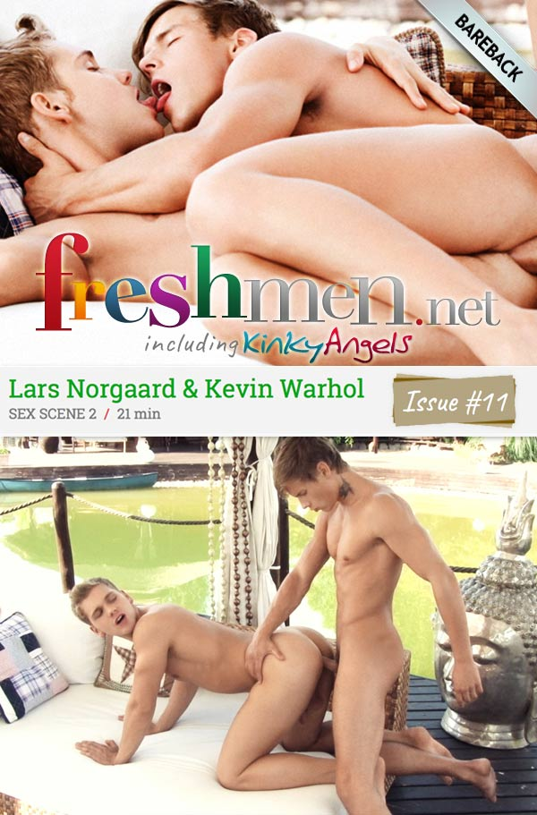 Issue #11: Kevin Warhol Fucks Lars Norgaard (Scene 2) at Freshmen.net