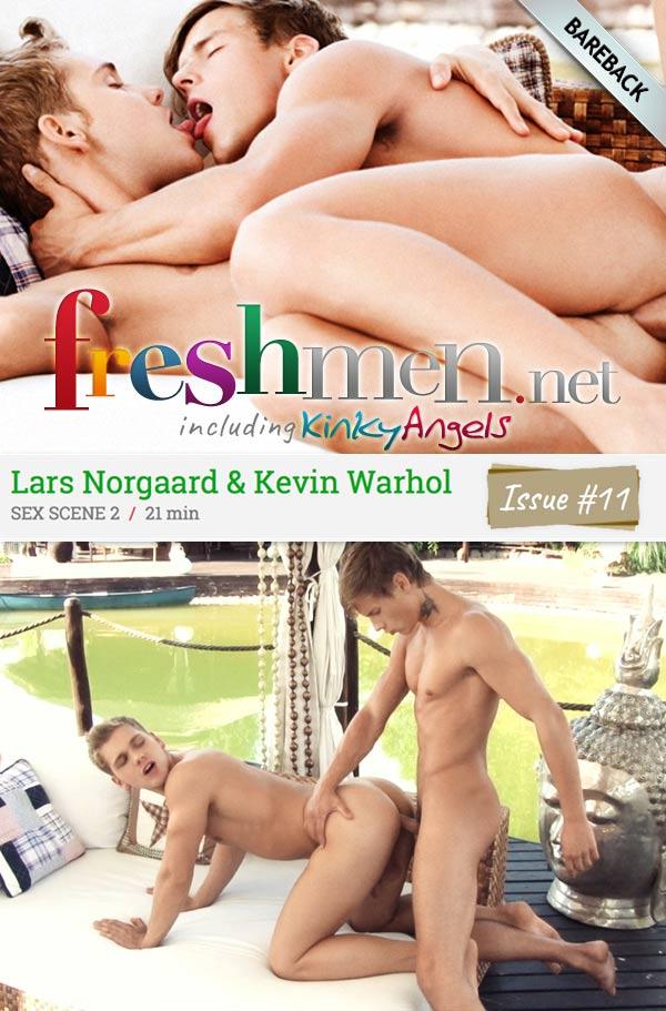Issue #11: Kevin Warhol Fucks Lars Norgaard (Scene 2) at Freshmen.net